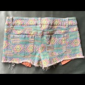 Celebrity Pink Shorts - Celebrity Pink Colored Denim Short